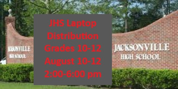 Laptop Distribution Schedule