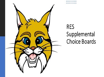 Supplemental Instruction Choice Boards