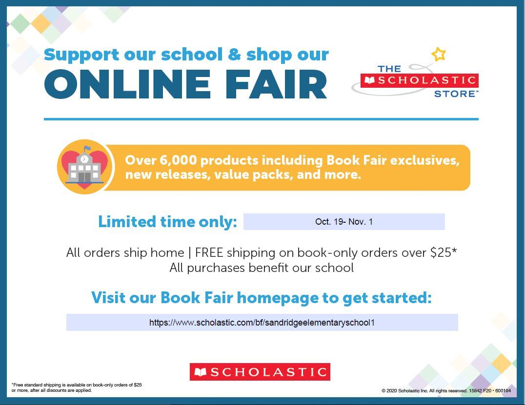 Support & Shop Our Online Book Fair!