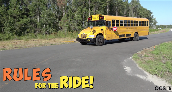 School Bus and Rules for The ride