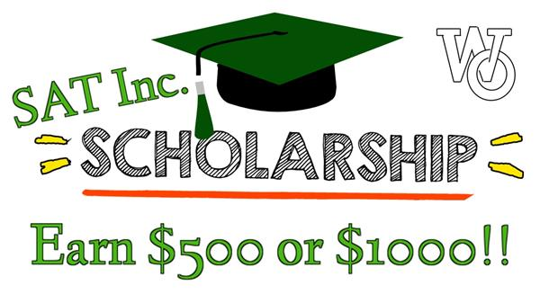 Don't miss the SAT Inc. Scholarship