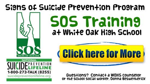 Signs of Suicide Prevention Program