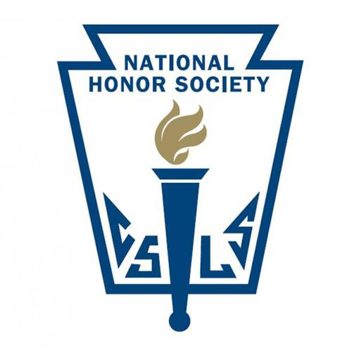 NHS emblem with keystone and flaming torch