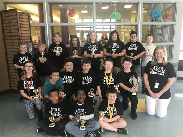 2017-2018 Science Olympiad Team