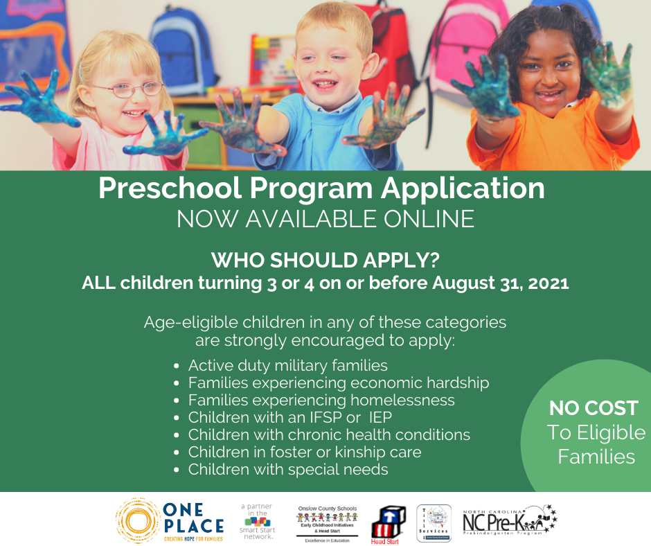 Preschool Application Information