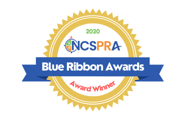 NCSPRA Blue Ribbon Awards Logo