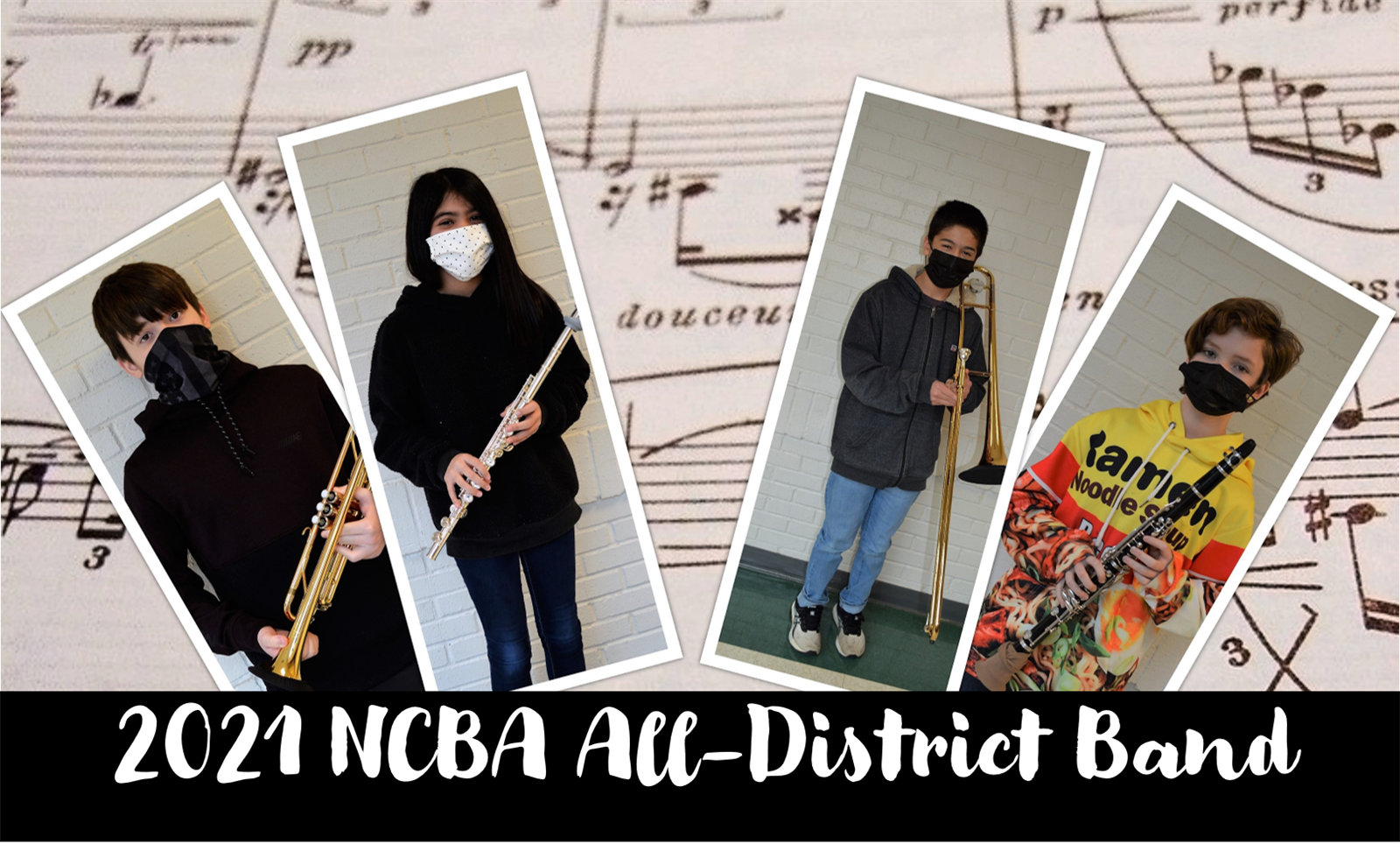 2021 NCBA All-District Band