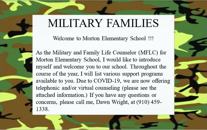 Military Families Introduction